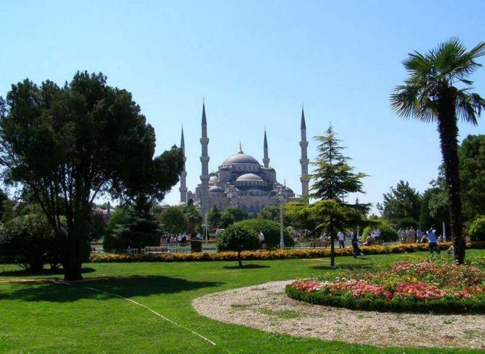 Sehenswürdigkeiten Istanbul moschee sultan ahmed