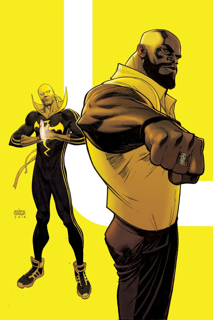 Andrew Robinson - Power Man & Iron Fist #6