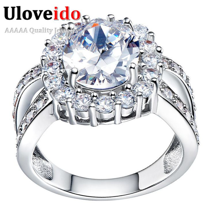 Find More Rings Information about 2016 Uloveido Womens Fashion Cubic Zirconia Ring Wedding Band Ladies Love CZ Diamond Promise Rings Set For Women Jewelry J469,High Quality ring ring ring ring ringtone,China ring marriage Suppliers, Cheap ring enamel from ULOVE Fashion Jewelry on Aliexpress.com