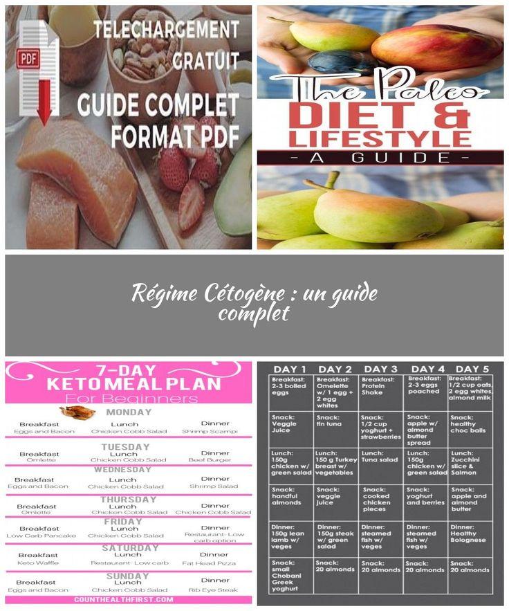 Régime cétogène principes et menus pdf diet plan meals