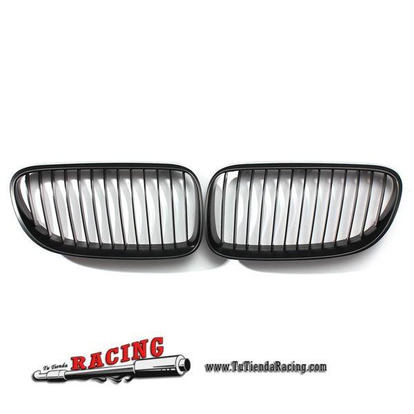 2X Parrillas Frontales Color Negro Mate para Coche BMW E92 E93 3-Series LCI Facelift 2DR -- 62,68€ Envío gratuito a toda España en todos los productos