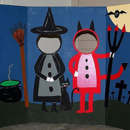 Photobooth de Halloween