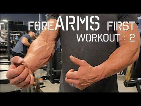 Forearms First (Building Popeye like Forearms), Part I - YouTube
