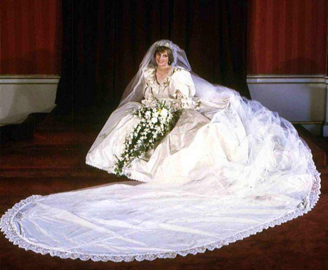 Princess Diana's Wedding Gown by David and Elizabeth Emanuel