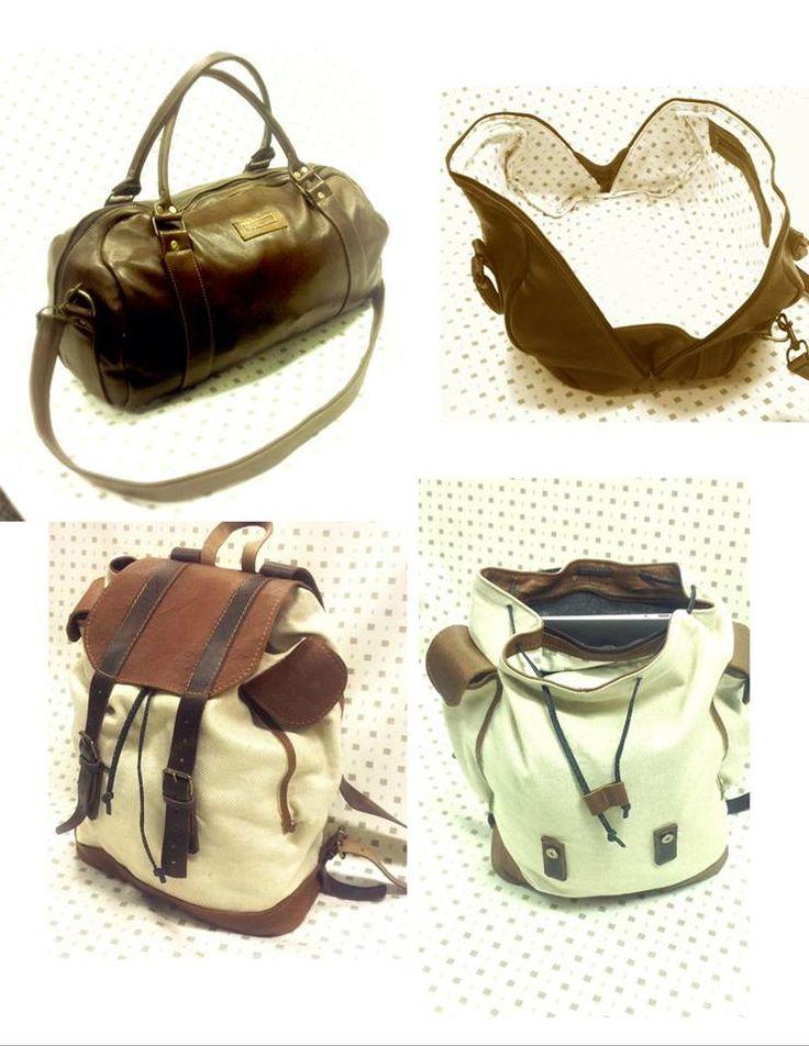 leather bag backpack handbag