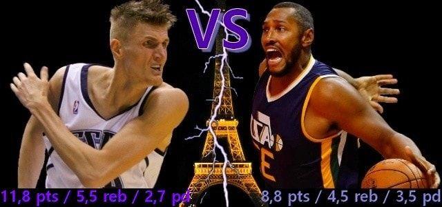 Boris Diaw - Andrei Kirilenko - Utah Jazz - Phoenix Suns - San Antonio Spurs