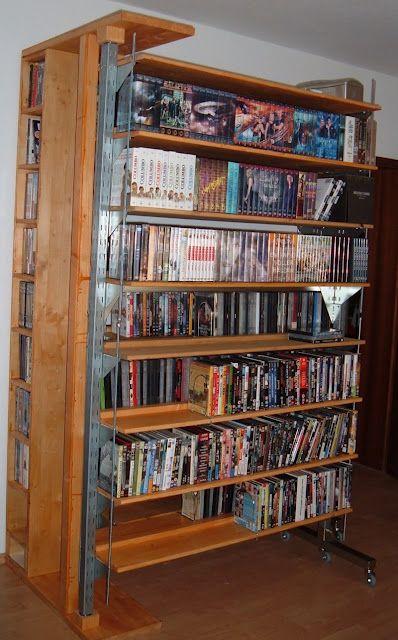 1000 Images About Dvd Organization On Pinterest Shelves