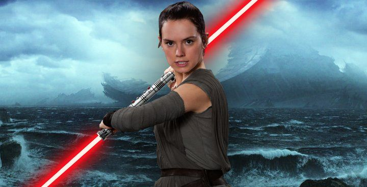 Daisy Ridley S Rey Wields A Double Bladed Red Lightsaber In Star Wars The Rise Of Skywalker But Why Does She Use It A Star Wars Red Lightsaber Star Wars Jedi