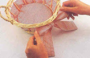 Manualidades canastas decoradas ~ lodijoella