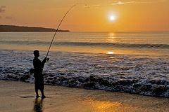 Fisherman at Jimbaran