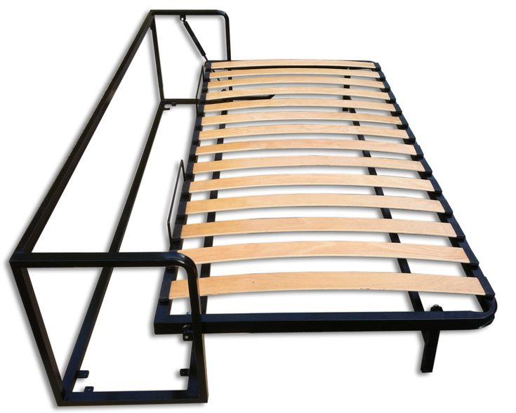Mit dem Single Schrankbett horizontal 90x200 schaffen Sie enorm viel Platz auf engem Raum ohne auf Komfort zu verzichten. ** JETZT STARK REDUZIERT! **