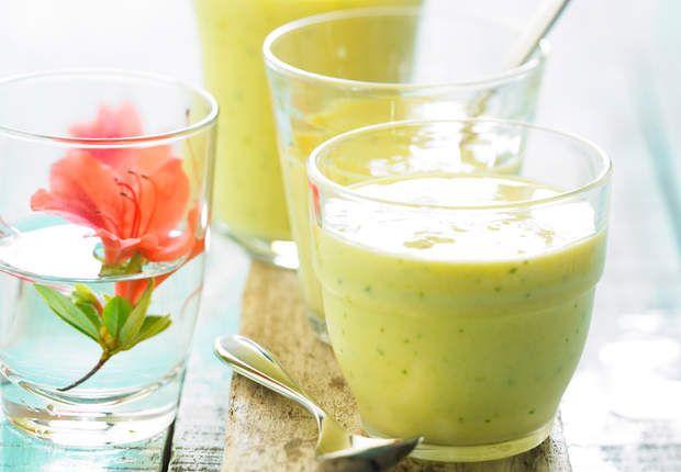 Smoothie à l'ananasVoir la recette duSmoothie à l'ananas >>