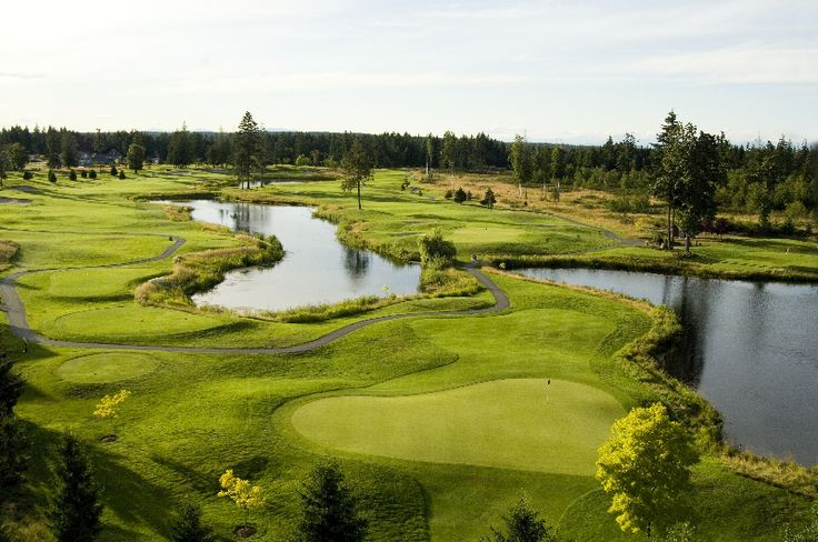 Crown Isle's Graham Cook designed golf course features 11 lakes.