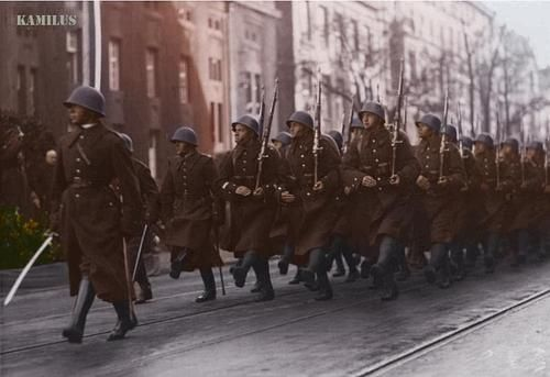 Polish soldier 1936, 73 Infantry Regiment in Katowice