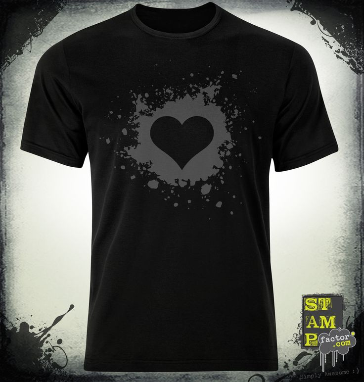 My Valentine (Davy's Grey) 2014 Collection - © stampfactor.com *T-SHIRT PREVIEW*