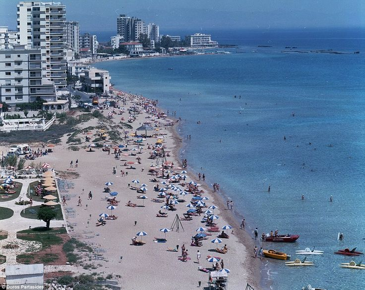 In the early 1970s, the Varosha quarter of Famagusta was a top tourist destination, with golden sands, high-rise hotels and shopping precincts, frequented by the likes of Brigitte Bardot, Richard Burton and Elizabeth Taylor...