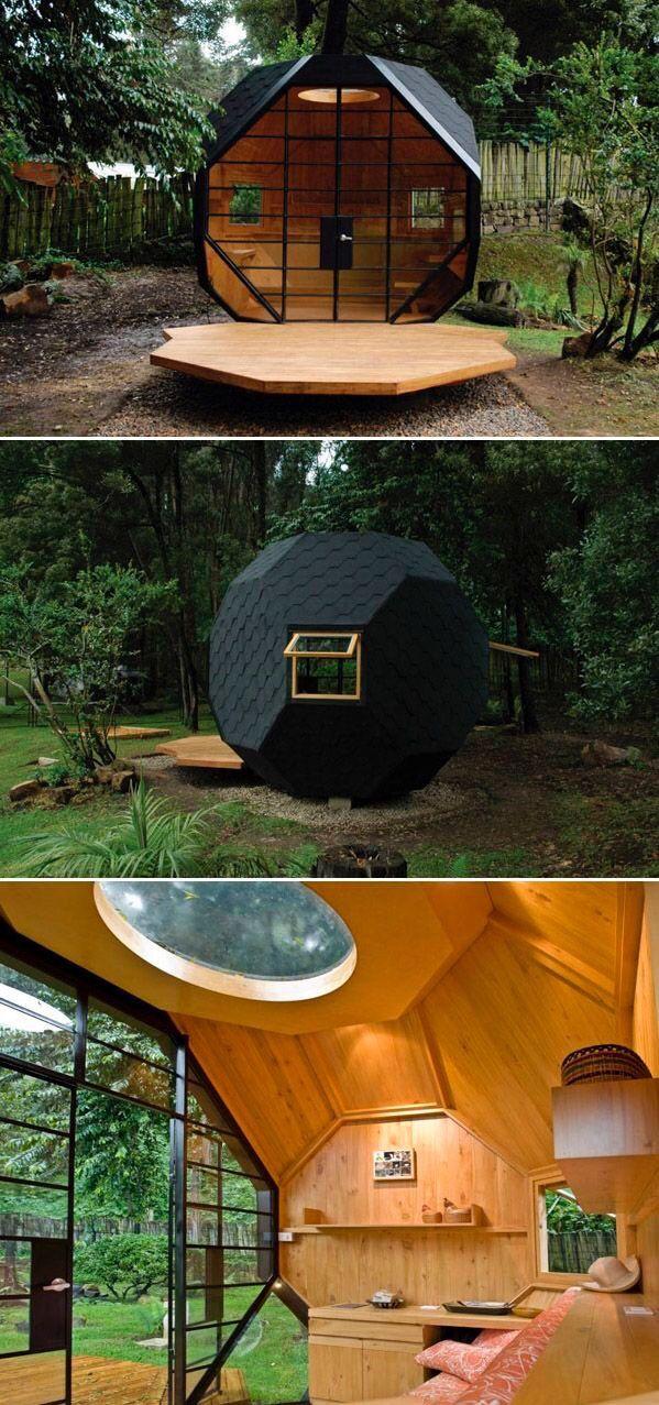 Habitable Polyhedron designed by Colombian architects Manuel Villa and Alberto González Sepúlveda