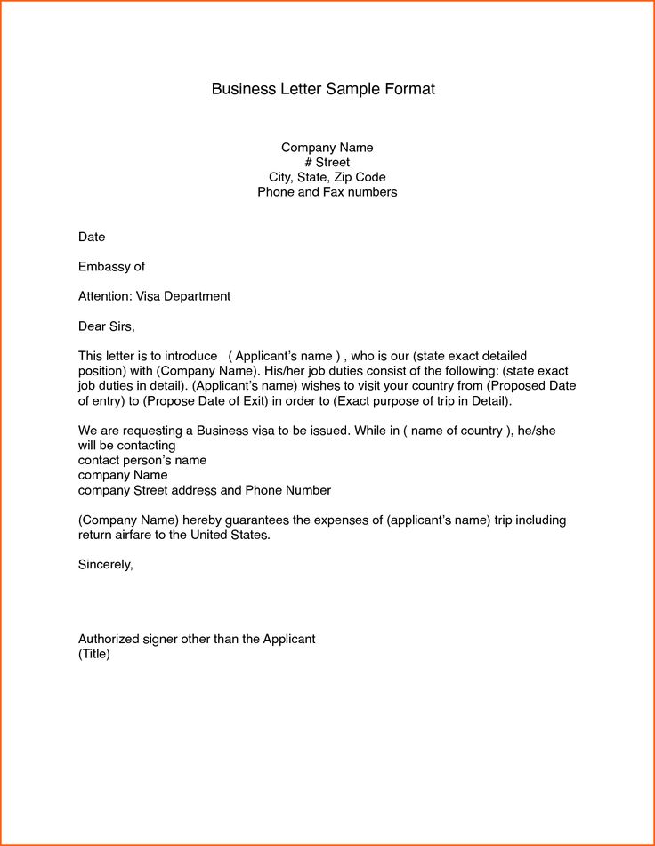 business letters format examples contract template letter download free cover sample
