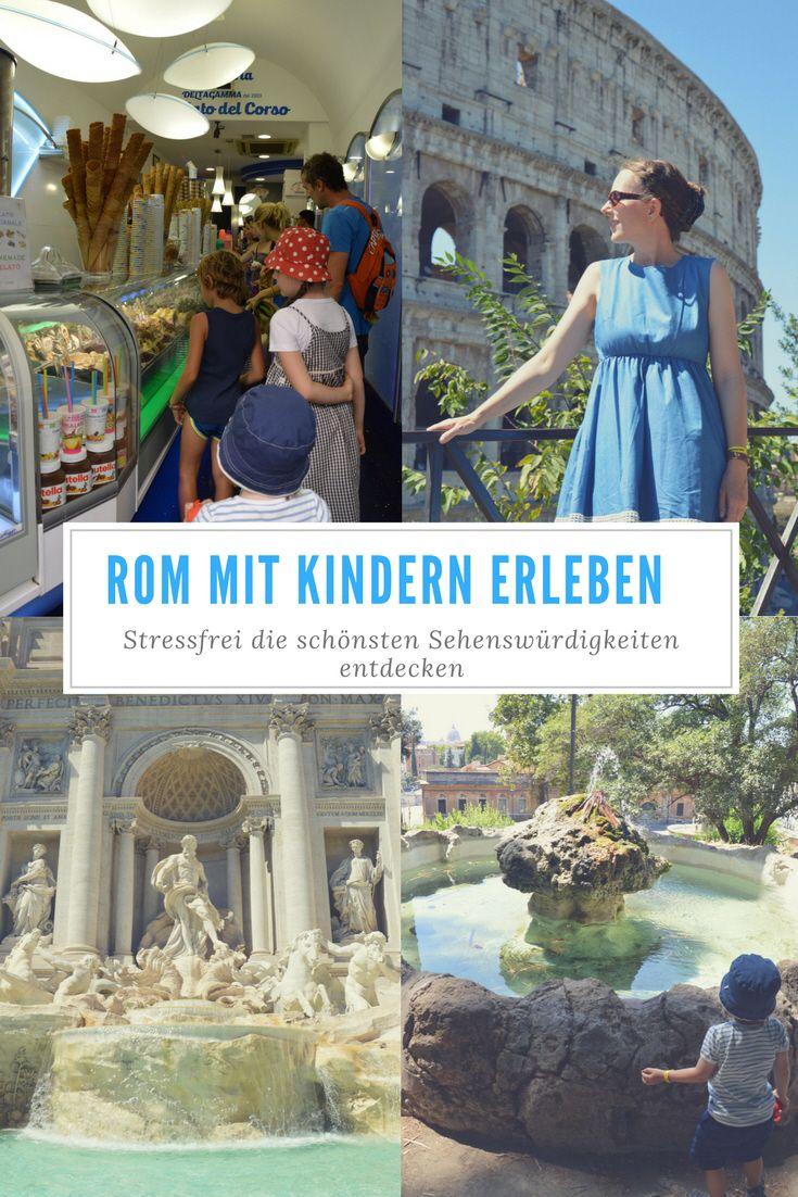 Mit Kindern die wunderschöne Stadt Rom ganz entspannt entdecken
