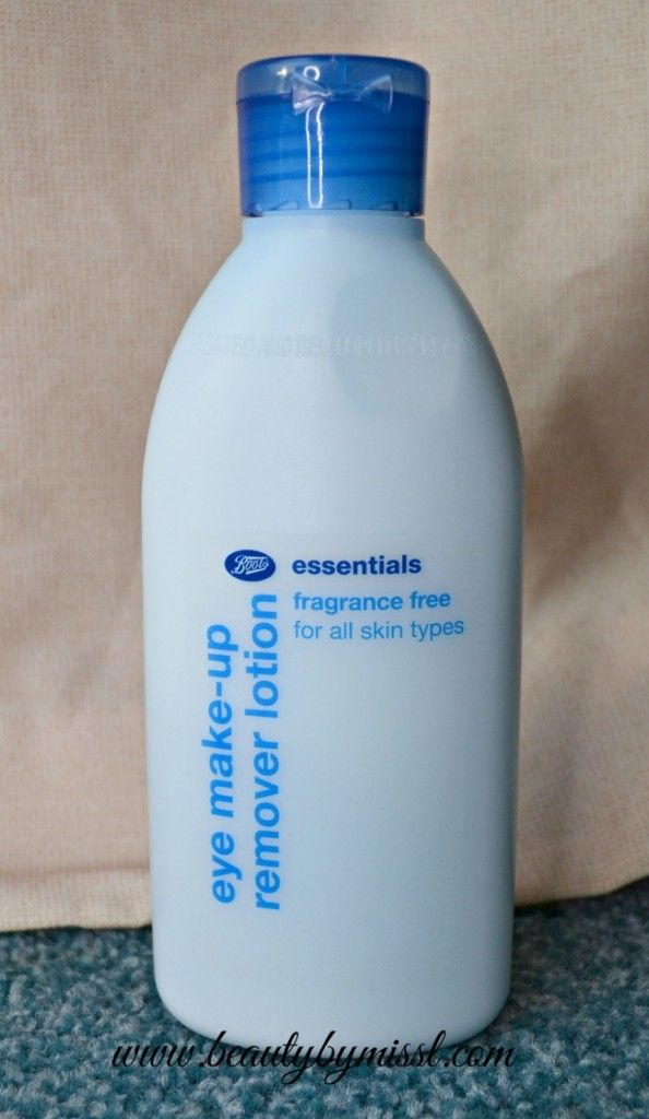 Boots Essentials Eye Make Up Remover Lotion