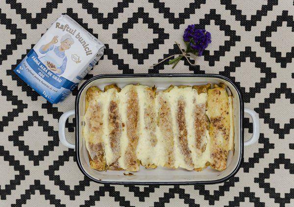 Clătite cu brânză la cuptor | Deserturi | printesapolonic.ro