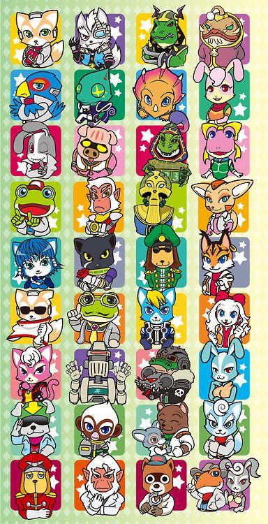 Star Fox All Stars