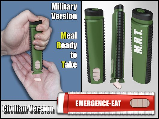 military ready meal
