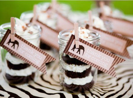 cupcakes in a jar + free printable tags