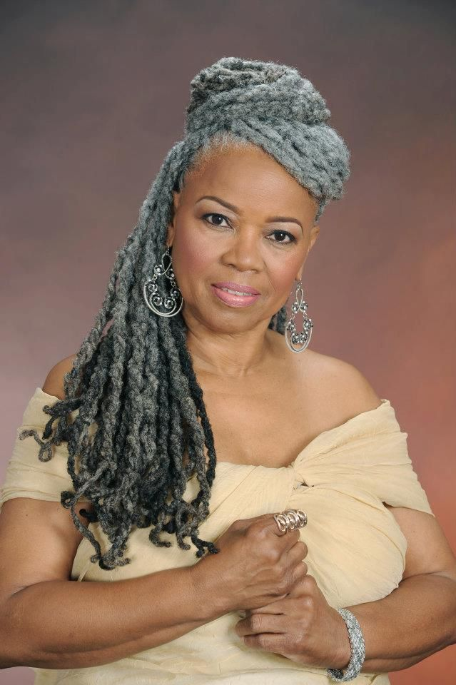 natural hair styles with gray hair | blackwomennaturalhairstyles.com