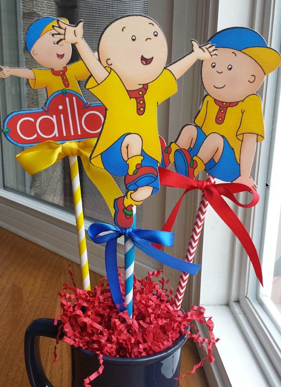 Hey, I found this really awesome Etsy listing at https://www.etsy.com/listing/243690008/new-caillou-die-cut-centerpieces-set-of