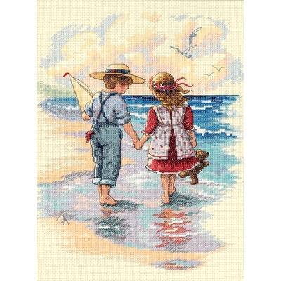 Dimensions Counted Cross Stitch Kit - Holding Hands