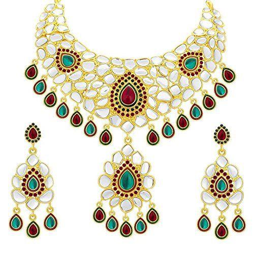 Indian Bollywood Inspired Gold Plated Red & Green Stone W... https://www.amazon.com/dp/B01MTYP630/ref=cm_sw_r_pi_dp_x_duaTyb9MYWVY0