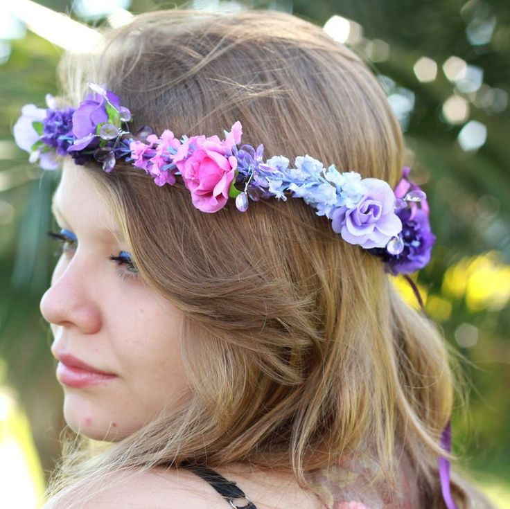Coroinha de Flores Lavanda - G.Offer