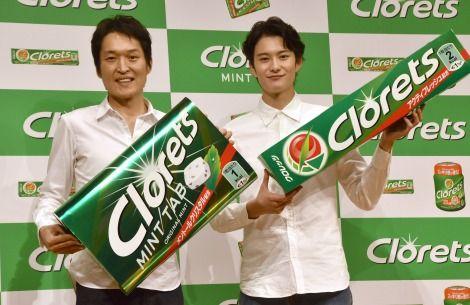 岡田将生、10年ぶり刷新『クロレッツ』新CMキャラクター就任「本当にうれしい」 3枚目 | ORICON NEWS | クロレッツ 新CM発表会 170904