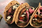 Chipotle Beef Tacos with Caramelized Onions by Rick Bayless