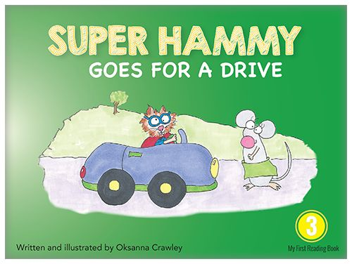 Super Hammy takes Little Mouse for a drive. This time, Little Mouse saves the day!