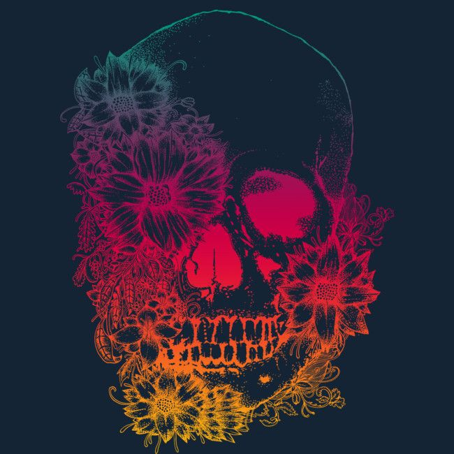 calavera colores is a T Shirt designed by monsterbirdcav to illustrate your life and is available at Design By Humans
