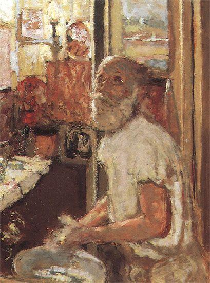 Artist's Self Portrait - Edouard Vuillard 1924