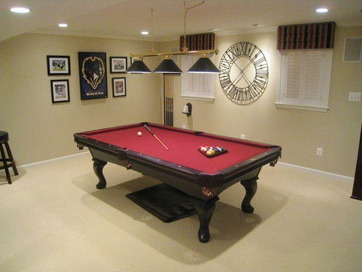 68 best Pool Table Room Ideas images on Pinterest | Billiard room ...