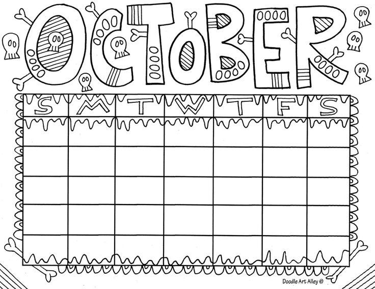 15 best Calendars images on Pinterest Adult coloring, Calendar - preschool calendar template