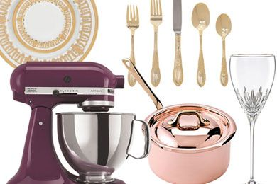 Wedding Registry, Registry Checklist Things you forget to register for until you don't have them!