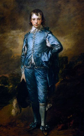 Blue Boy by Gainsborough, Celestial Blue P. Gaye Tapp's color for 2012