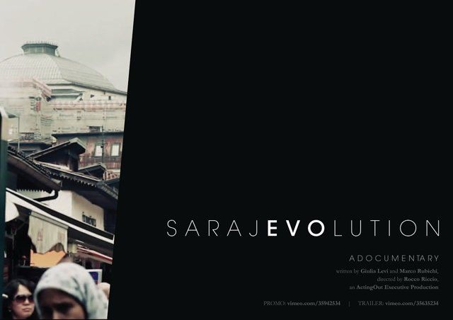 Sarajevolution, a 52' documentary.  One of the most renowned victims of the siege of Sarajevo is the Vijećnica, the majestic building that housed the national and university library. In 1992, it was hit with heavy artillery and incendiary bombs by Serbian military forces, severely damaging the building and consigning hundreds of thousands of books to the flames.  Nowadays, the Vijećnica is still in ruins, almost inaccessible, wrappe d up in bleak scaffolds and looked at in pity and ...