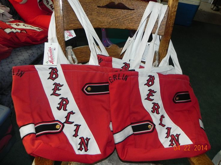 "Old Marching Band Uniforms Recycled Into The ""Redcoat Tote ..."
