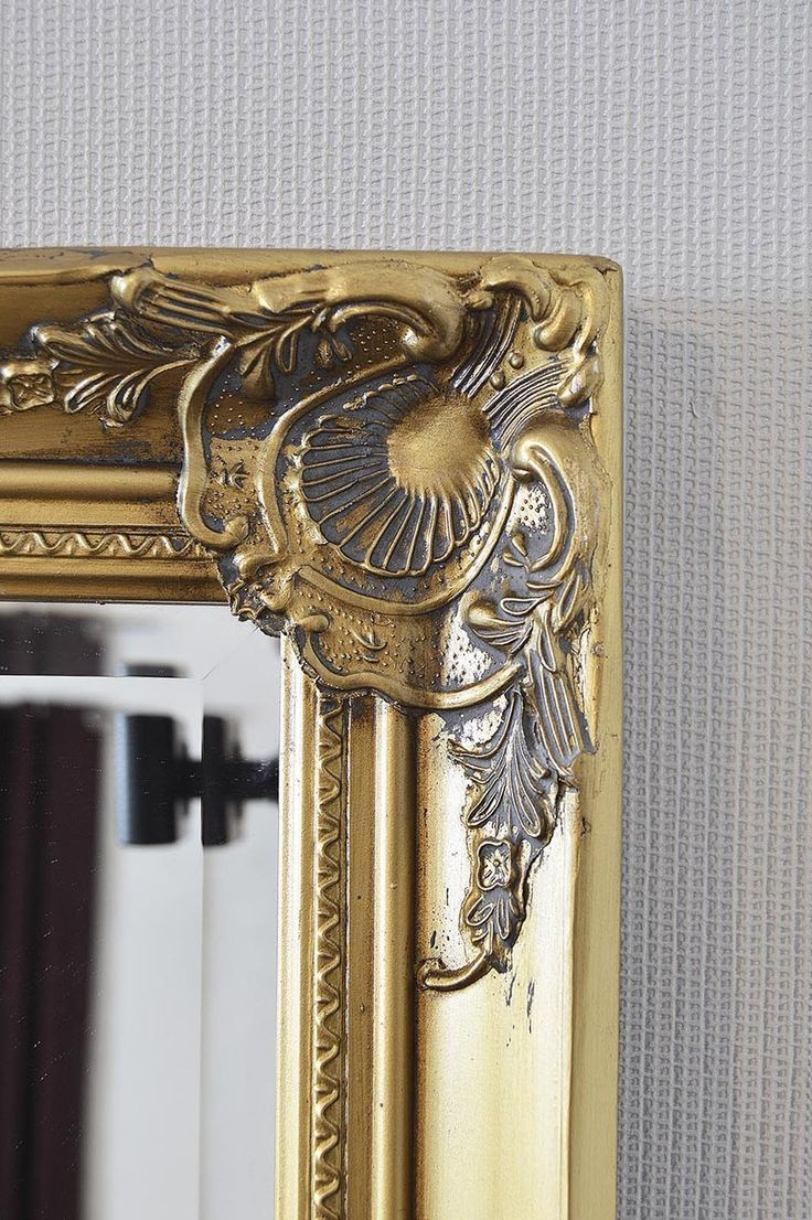 extra large gold decorative antique full length wall on wall mirrors id=53564