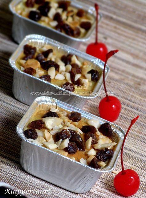 Klappertaart (Indonesian Coconut Pudding/Cake), adalah dessert khas Manado yang merupakan salah satu kuliner warisan Belanda. Klappertaart...