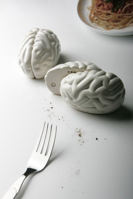 Solniczka i pieprzniczka Brain - tylko dla tych o mocnych nerwach - dostępne na FabrykaForm.pl