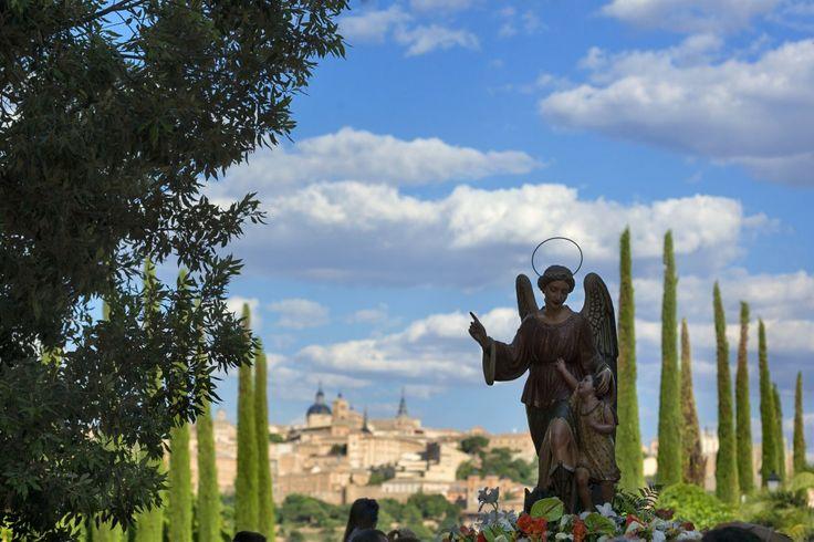 Romería del Ángel Custodio en #Toledo
