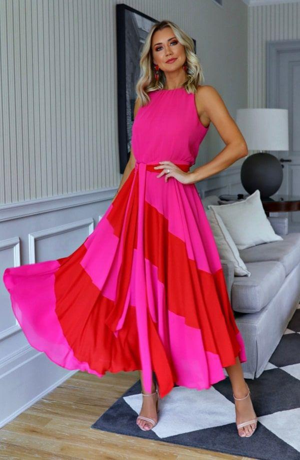 45 vestidos de festa midi | Vestido festa midi, Vestidos, Vestidos para casamento convidada