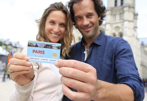 Paris Pass - skip the lines entrance to 60+ attractions with ride pass for Metro/buses throughout Paris, purchase online prior to trip